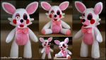 Five Nights At Freddys - Mangle - Plush by roobbo