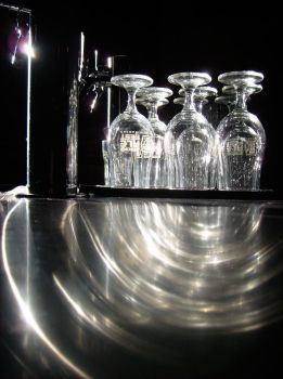 Glasses On the Keg Box Tall View by Ablebaker