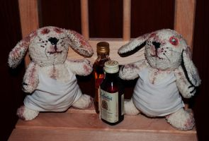 Alco-rabbits by sassynails