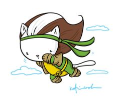 cat rogue by katiecandraw
