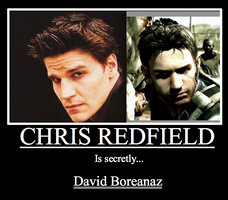 CHRIS REDFIELD mod by SqueekyClean-801