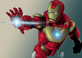 IronMan 3 by Spidertof