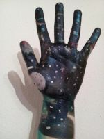galaxy body paint by ghostthewerecat