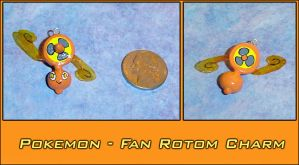 Pokemon - Fan Rotom Charm by YellerCrakka