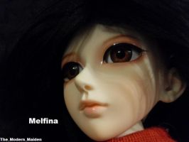 Melfina brown eyes 4 by The-Modern-Maiden