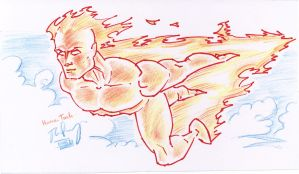 The Human Torch by JoeyCS