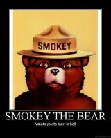 smokey the bear by Hobo159