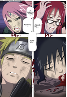 Naruto Chap 662 - Lineart Colored by DennisStelly