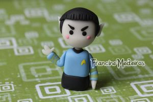 Spock - star trek by theredprincess