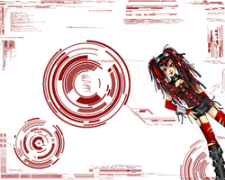 CyberGoth Wallpaper Red by CyberR00T