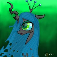 My Queen Chrysalis by EPICBLUEFACE22