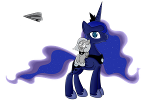 Luna and Woona by Dragonfoorm