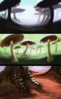 Mushrooms by jjpeabody