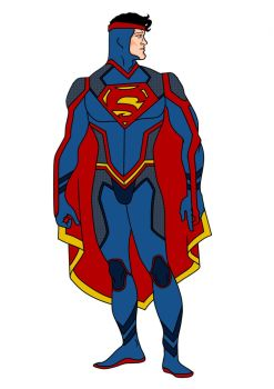 Superman Redesign by Comicbookguy54321