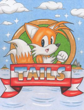 Classic Tails by DragonQuestHero