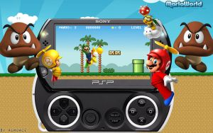 Mario PSP-Go by Almoace