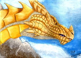 Skyrim - Drago normale - Dragon Normal by x723