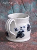 Vine and Leaves Cider Mug by che4u