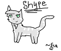 Shype-In Cat Form by Fangirl-Trash