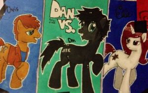 Ponyfied: Dan Vs. by Jasmine-Likes-Food