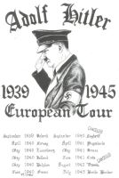 adolf hitler the european tour by phoenixtattoos