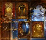 Halloween Night small pack by moonchild-ljilja