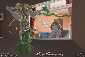 Hanging Around for the Holidays by TtotheKay