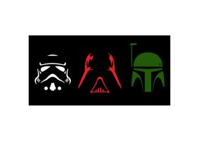 Star Wars Silhouettes by tanman1
