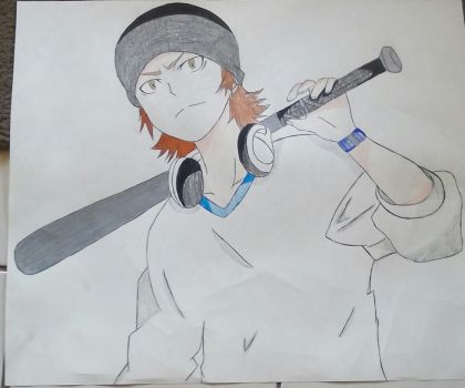 Yata colored (poster size) by KarKatCaptor1
