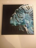 Blue Lionfish by Mau-Ve