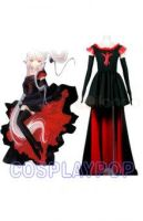 Chobits Freya red and black Costume for Cosplay by meganpu