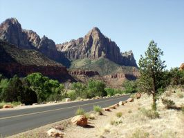 Road to Zion by chinopisces