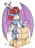 Demona by CrimsonArtz