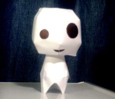 Papercraft Kodama by ImmaculateSorrow