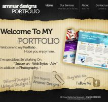 My Portfolio by ammardesigns