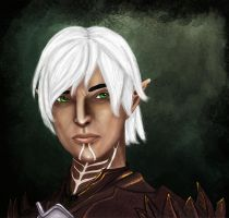 Fenris: The Broody Elf by Arquen