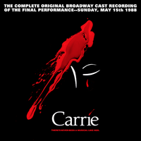 Carrie: the Musical CD Bootleg Jacket by TerrysEatsnDawgs