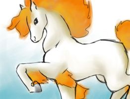 Ponyta by Caria