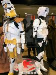 Clone Trooper and Scout Trooper by Leena-A
