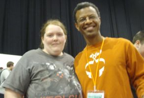Meeting Phil LaMarr by lunamaxwell