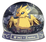 145 - Zapdos by Electrical-Socket