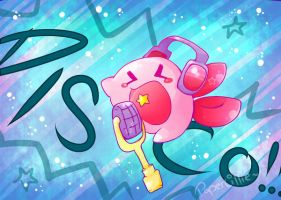 Kirby Disco by PaperLillie
