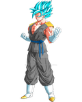 Super Saiyan God Super Saiyan Vegetto by ruga-rell