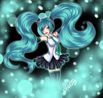 Miku by LaminaNati