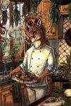 Patron Saint of Culinary Delights by M-Spencer