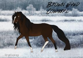 1611  Brown Eyed Cowgirl by RinaKisaragi