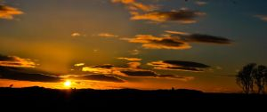 Sunset in Arbroath by SqueezeBoxx