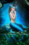 Blue mermaid by mashamaklaut