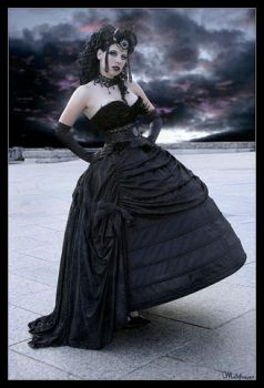 I sometimes dream of darkness by Helleana