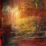 First abstract painting by cattan